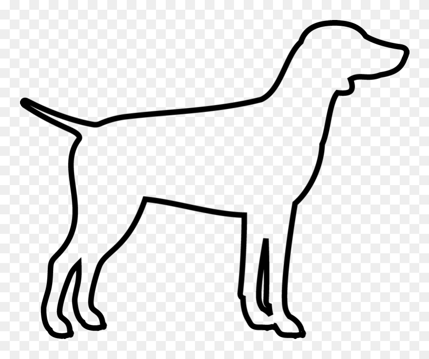 Dog outline. Png english bull terrier