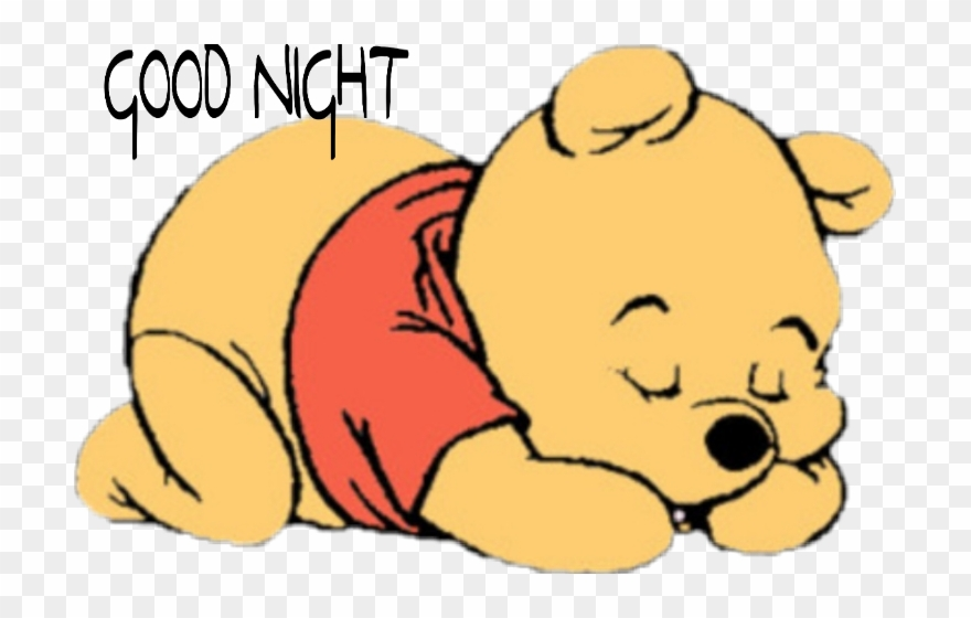 winnie the pooh baby sleeping clipart 1901345  pinclipart
