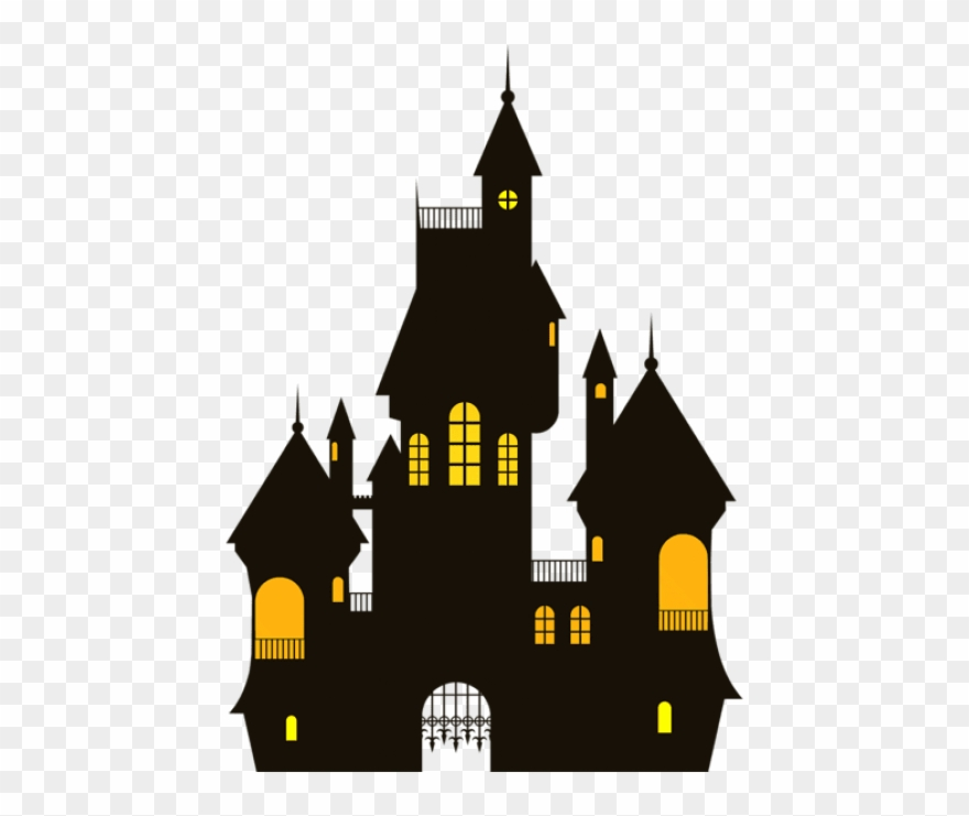 Castle transparent background. Free png halloween images