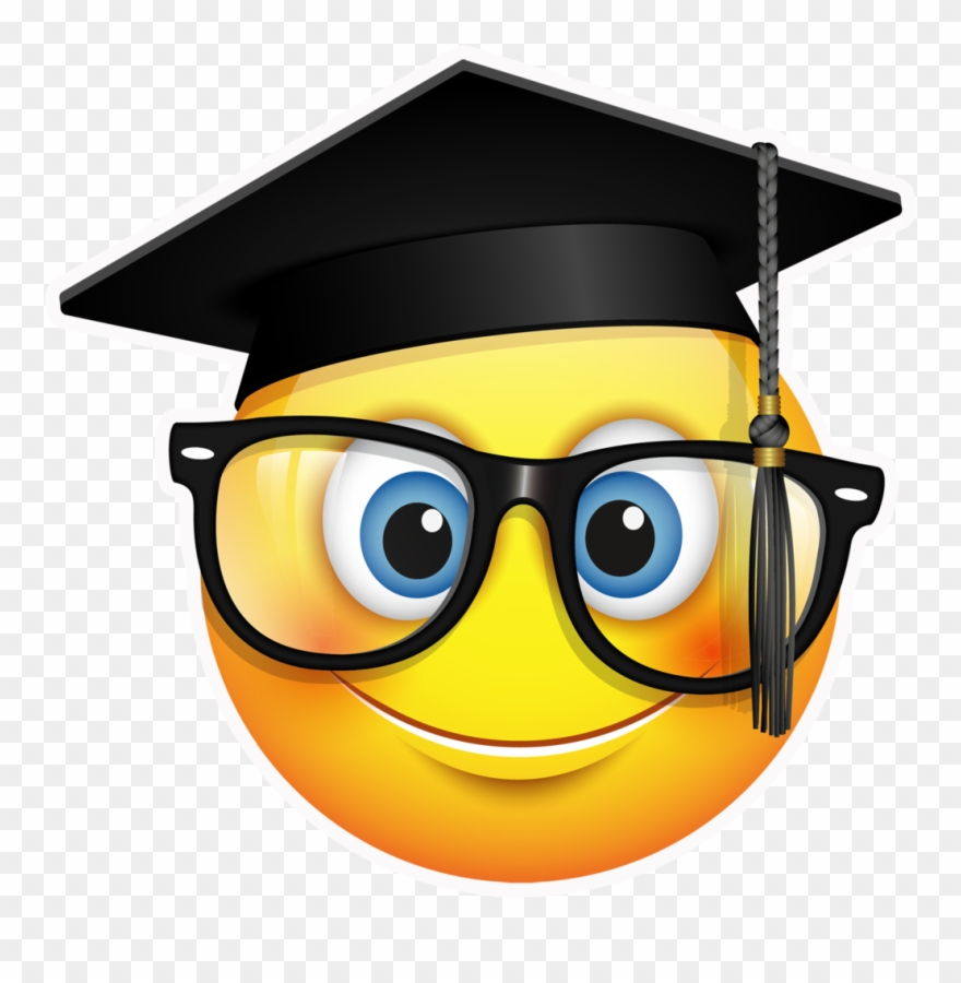 a960ad7f7f5 Ceremony Emoji Square Academic Cap Clip Art - Graduation Emoji Png  Transparent Png
