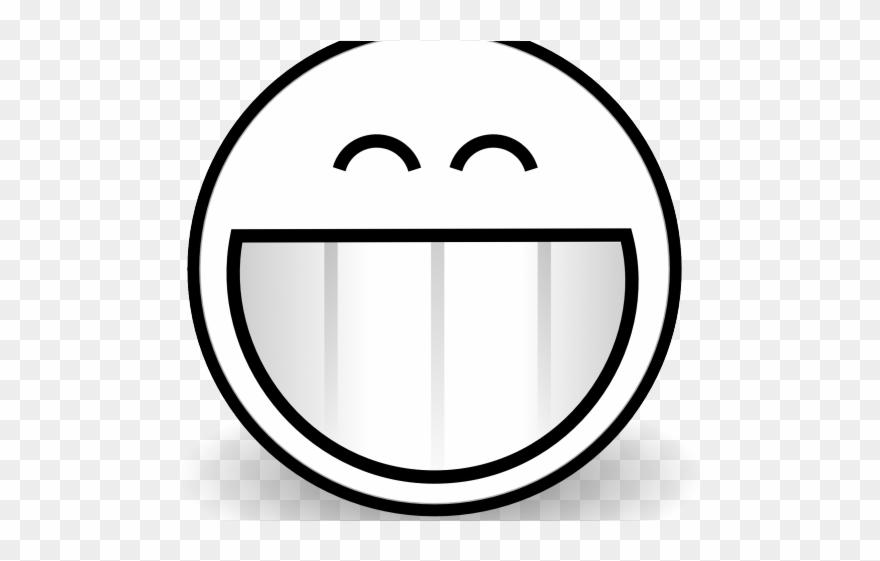 Sad Emoji Clipart Black And White - Clip Art - Png Download
