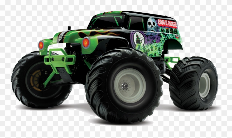 Truck Transparent Monster Jam Clipart Transparent Stock - Grave Digger Monster Truck ...