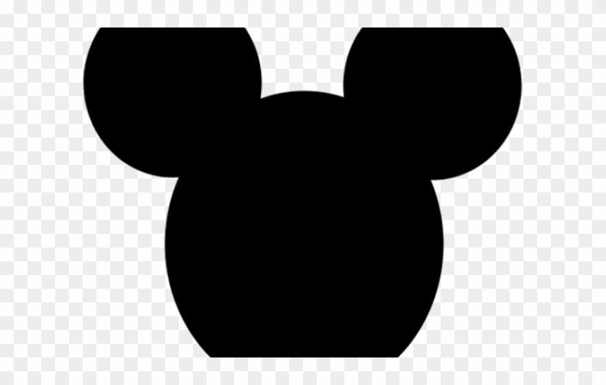 graphic regarding Mickey Mouse Template Printable called Mickey Mouse Ear Template Printable - Mickey Mouse Clipart