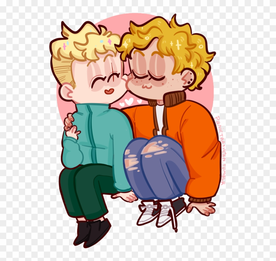 Kenny X Butters ~ Sweethearts Kenny South Park, Happy - Clip