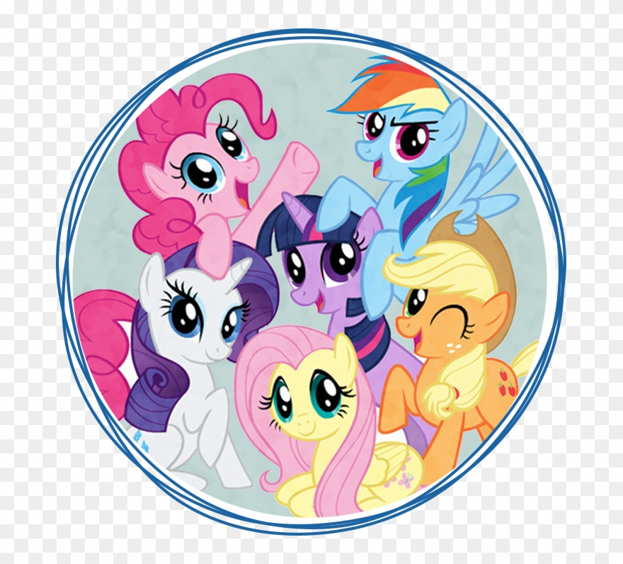 My Little Pony Topper My Little Pony Clipart 1921189 Pinclipart