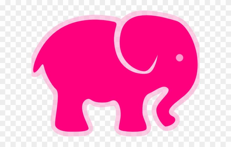 Elephant Clipart Heart Elephant Baby Shower Png Vector Transparent