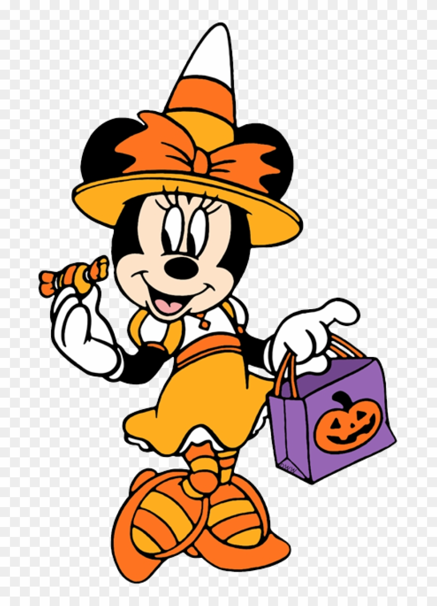 Permalink To Disney Halloween Clipart Minnie Mouse Halloween Clipart Png Download Full Size Clipart 1924606 Pinclipart