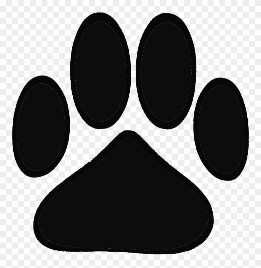 Cute Cat Clipart Plantillas Para Tatuajes De Huellas De Perro