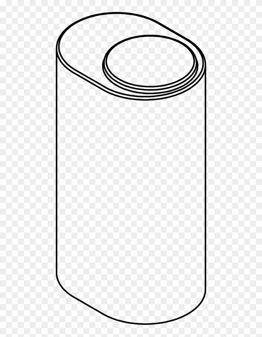150 Imperial Gallon Oval Vertical Tank - Line Art Clipart (#1929472