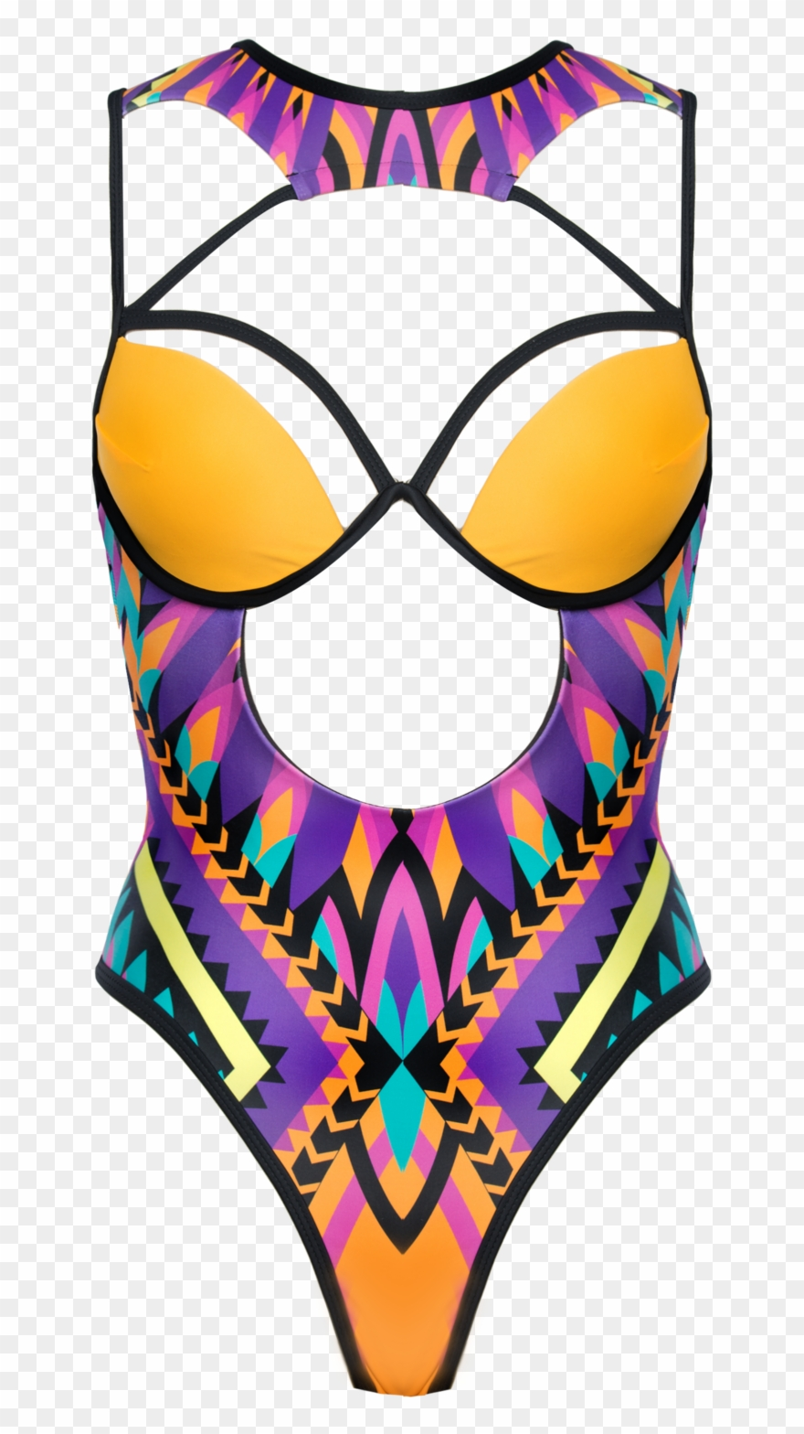 Aphiz One Piece Swimsuit One Piece Swimsuit Clipart 1932770