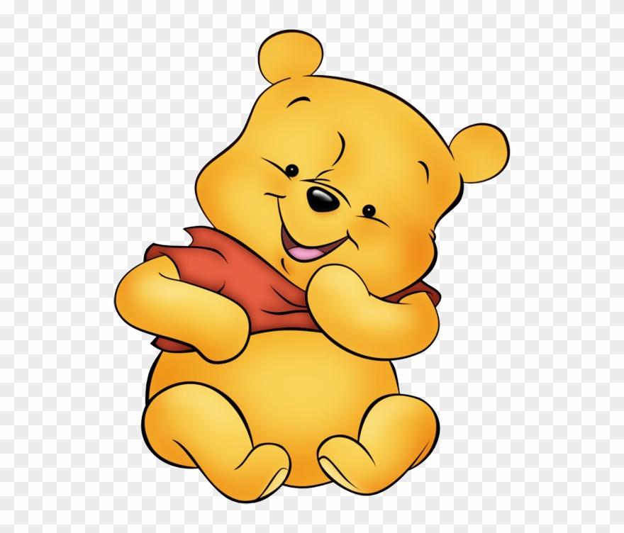 Clipart Clipart In Color Black Dibujos De Winnie Pooh Bebe Png