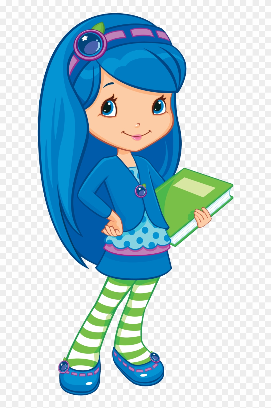 Strawberry Shortcake Characters Blueberry Muffin Clipart 1939472