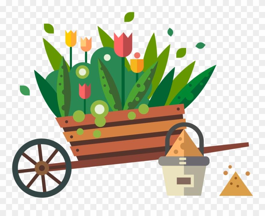 Clip Art Free Stock Garden Shipping Flowers Transprent