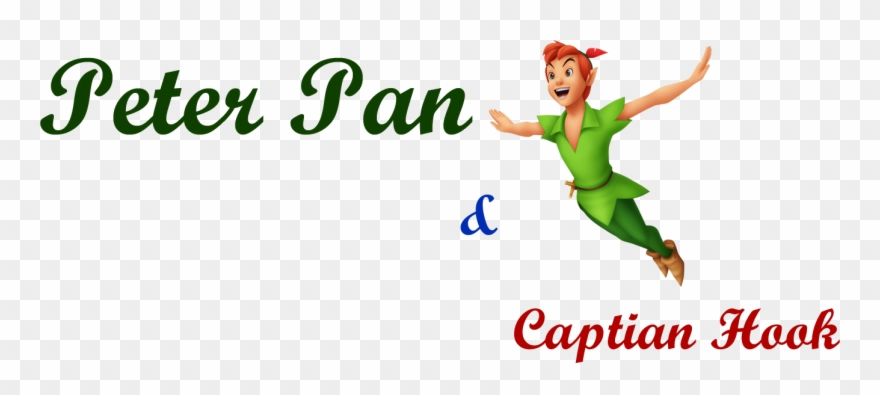 Peter Pan And Captain Hook - Peter Pan Clipart