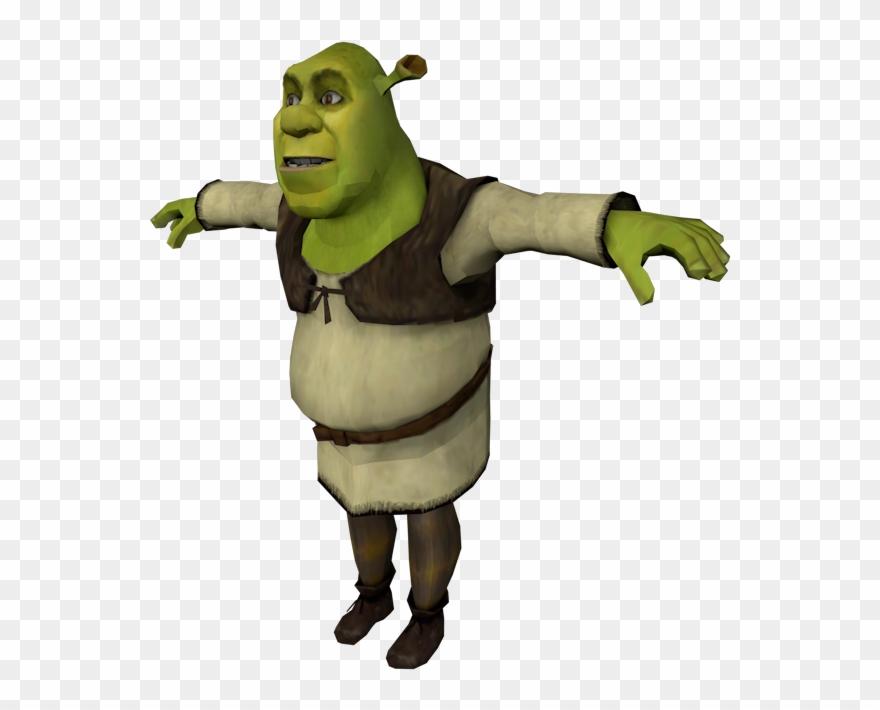 Shrek Face Png Pc Computer Tony Hawk S Underground Shrek Meme Transparent Background Clipart 1948448 Pinclipart