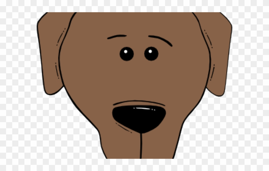 Sad Puppy Clipart Cartoon Dogs Face Png Download 1952792 Pinclipart