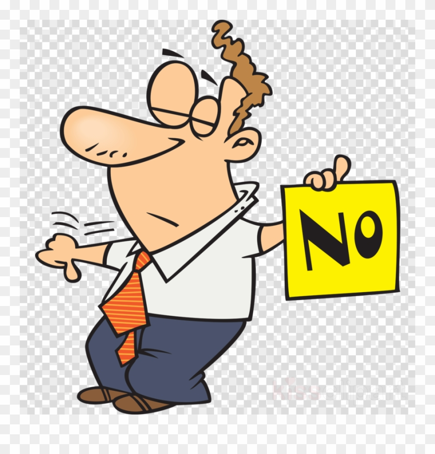 Dad Saying No Clipart Royalty Free Clip Art Cartoon Thumbs Up Yes Png Download 1954604 Pinclipart