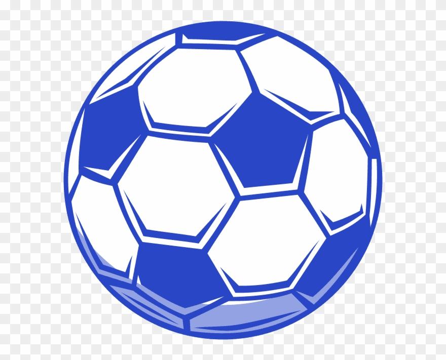 Soccer blue. Coaches gear ball png