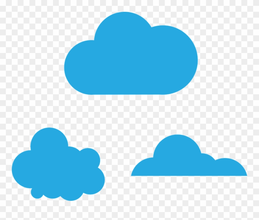 Cloud color. Clipart to download free