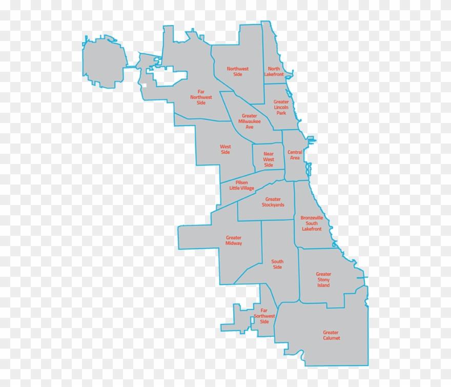Neighborhoods Now Plans Far Map Of Chicago Neighborhoods Clipart