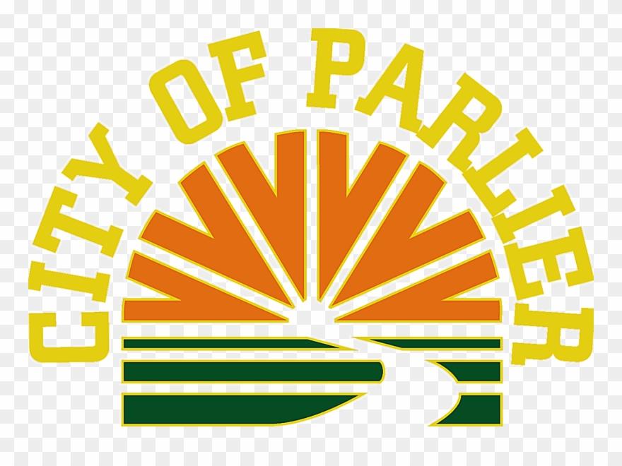 California design. Seal of parlier graphic