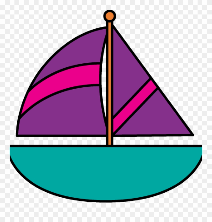 Sailboats On the Water Clip Art