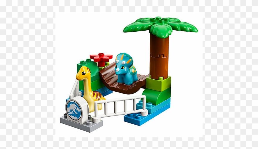 Lego 10879 Duplo Minizoo łagodne Olbrzymy Klocki Duplo Jurassic