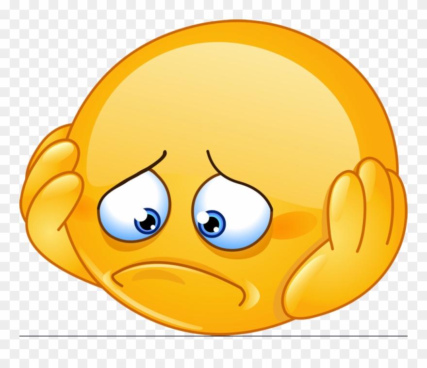 15 Sad Face Emoji Download Heart Emoji Black Red Heart - Sad Face Clipart