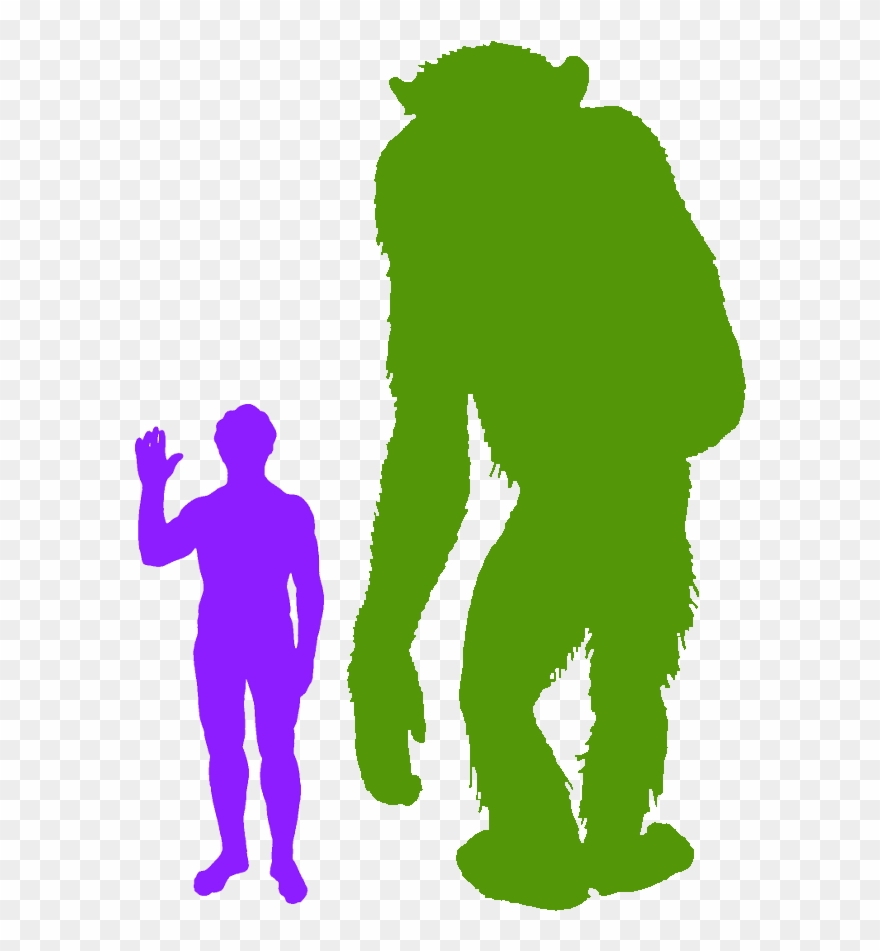The Real King Kong Chicken Size Comparison To Human Clipart 1982897 Pinclipart
