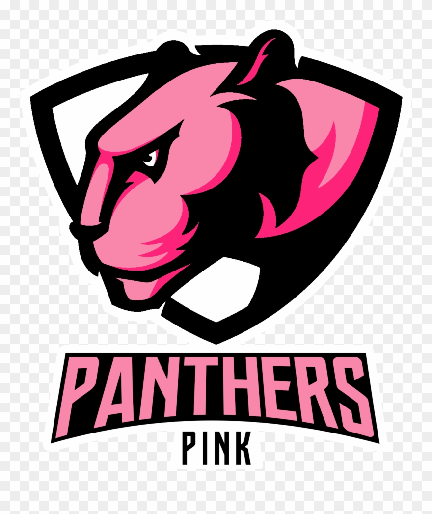 Pink Panthers - Poster Clipart
