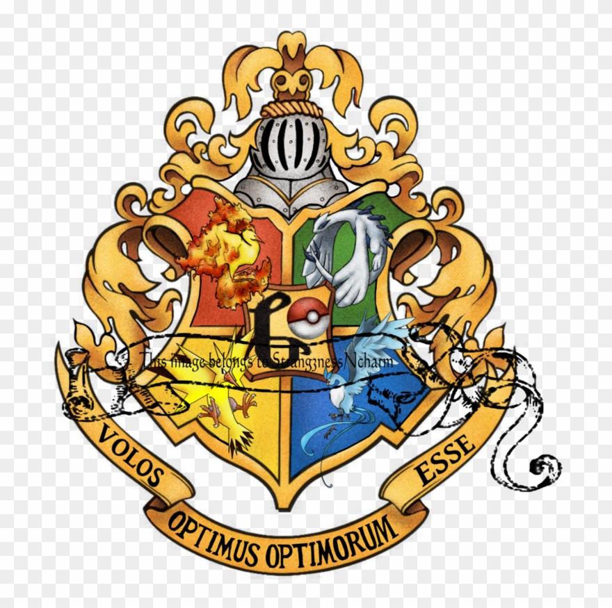 Harry Potter Clipart Hogwarts Crest Hogwarts School Logo Png