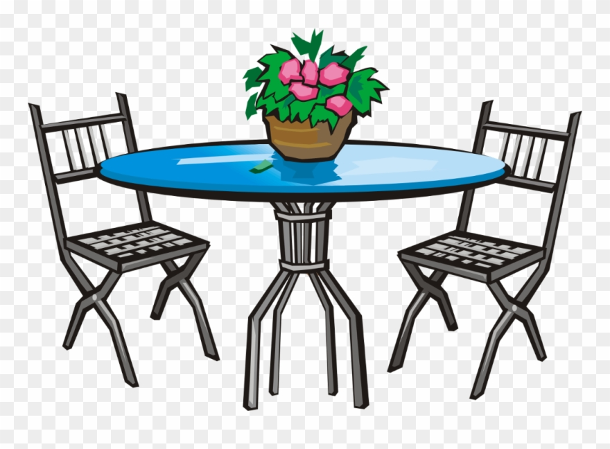 Patio Furniture Clip Art Png