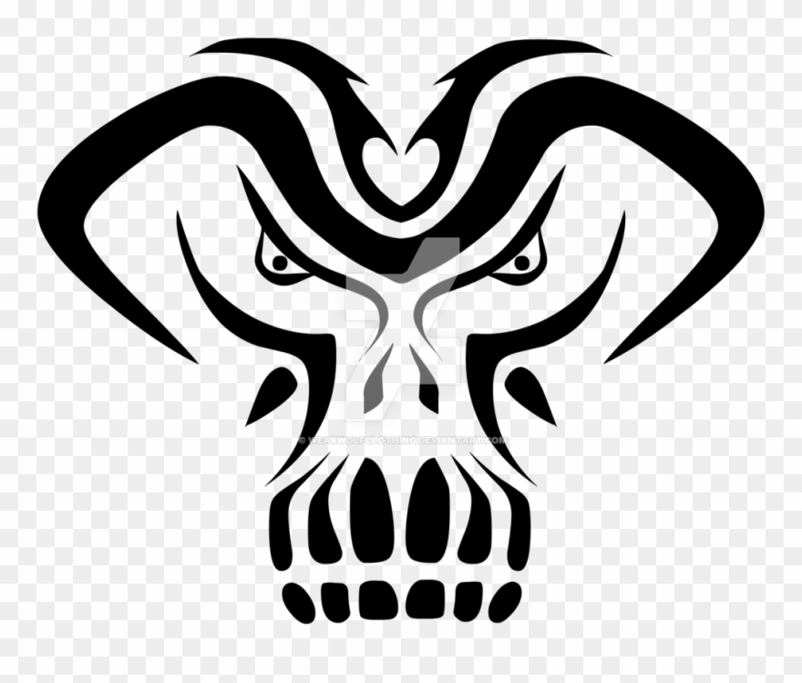 African Tribal Mask Tattoo Design Photo Tattoo Clipart 1991742