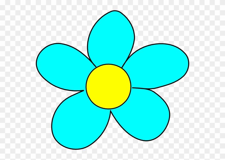 Flores Animadas Azules Clipart 20350 Pinclipart