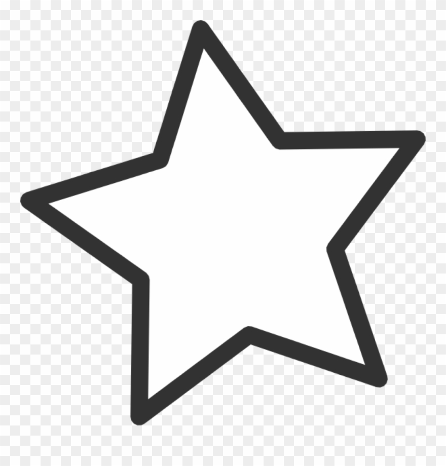 Star clear background. Png transparent clipart pinclipart