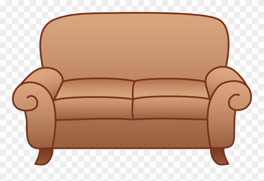 Room Clip Art: Transparent Background Couch