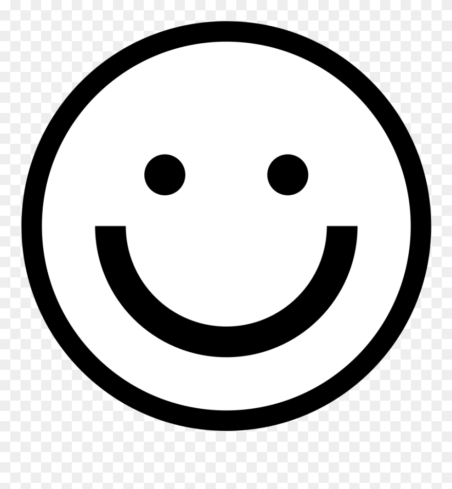 Download Smiley Face Black And White Smiley Face Clipart ...