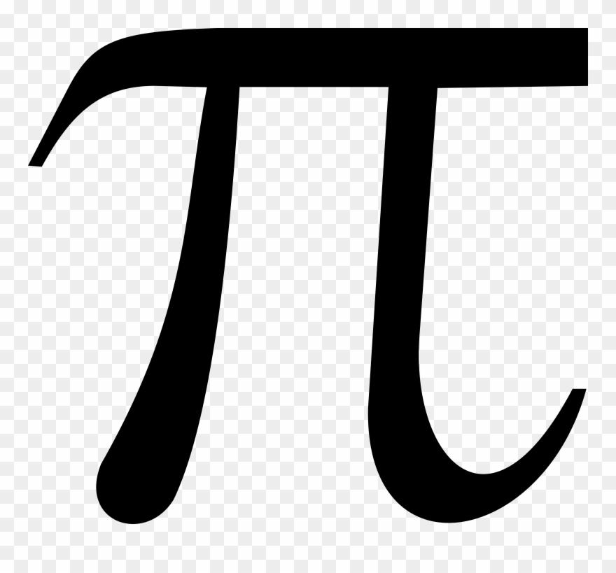 Mathematics Clipart Calculus - Math Pi Symbol - Png Download