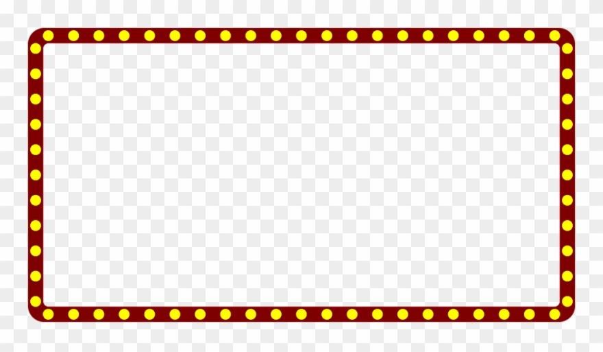 Broadway Lights Border Clipart Marquee Lights ...