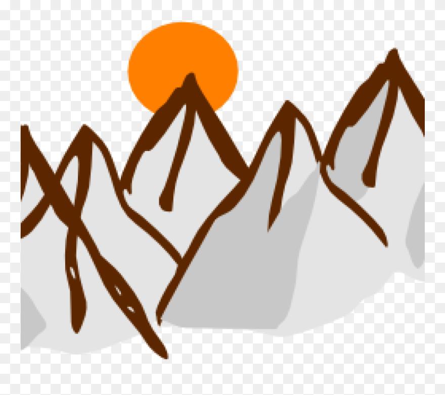 Mountain cute. Range clip art clipart