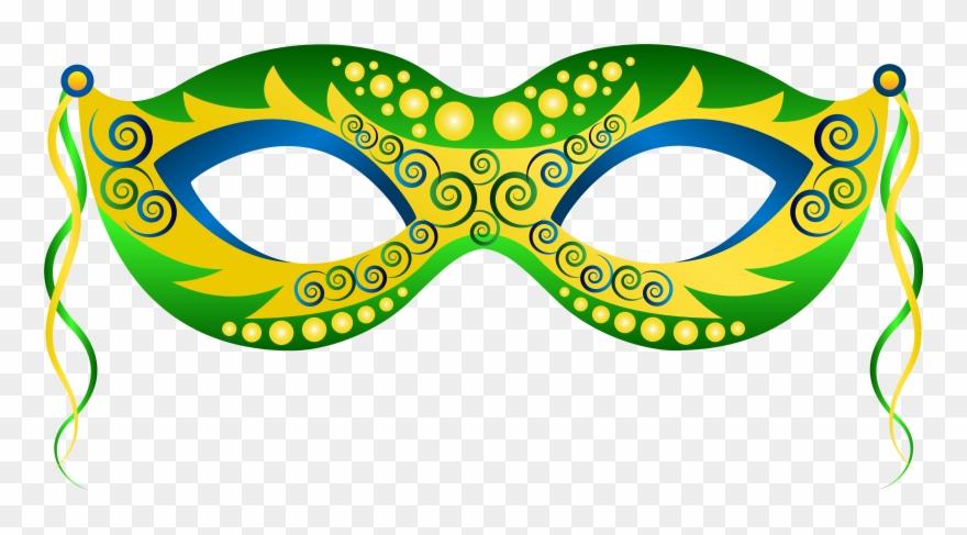 Png Image Information - Mardi Gras Mask Clipart Png Transparent Png