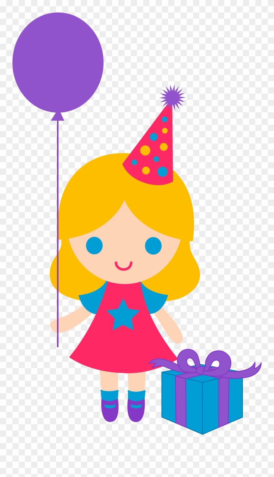 Little Birthday Girl Clip Art Free Clip Art Happy Birthday Girl