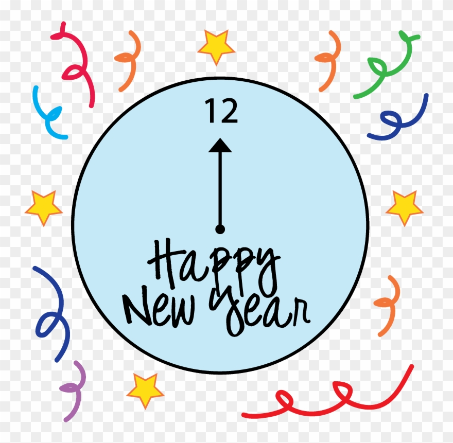 Happy New Year Animated Emoticons For Facebook Whatsapp