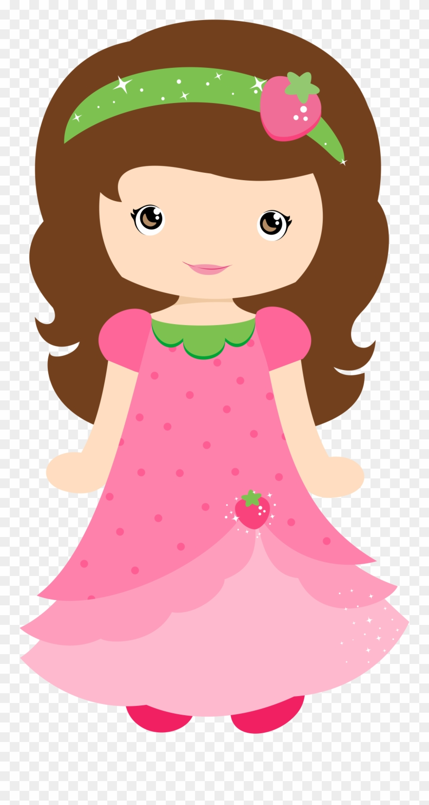 Girl cute PNG Picture.