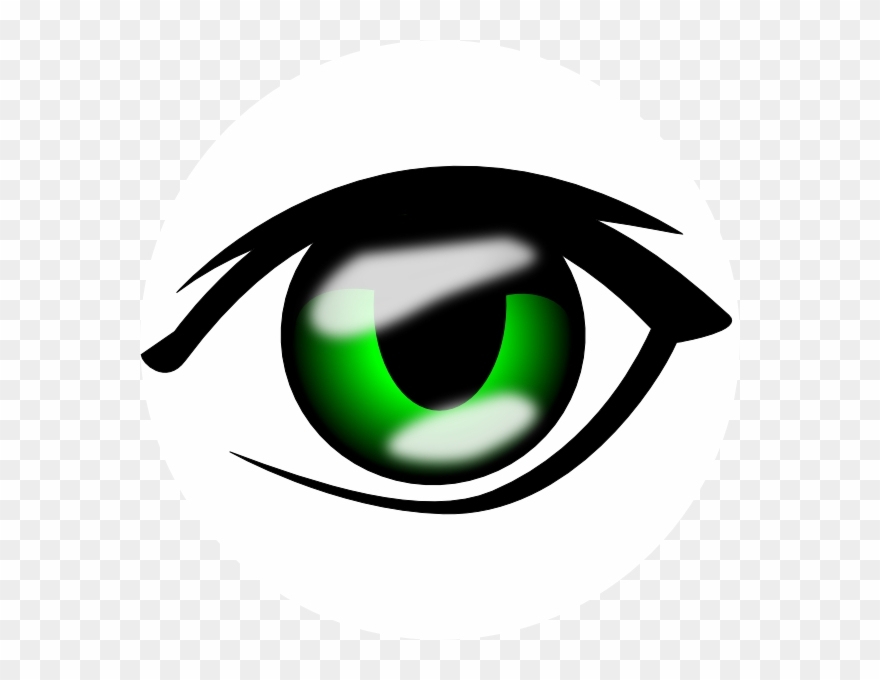 Eyes anime. Copy and paste clipart