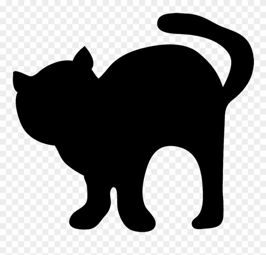 Halloween Black Cat Clip Art