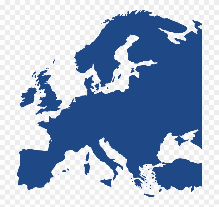 Europe World Map Blank Map Vector Map - History Of The ...
