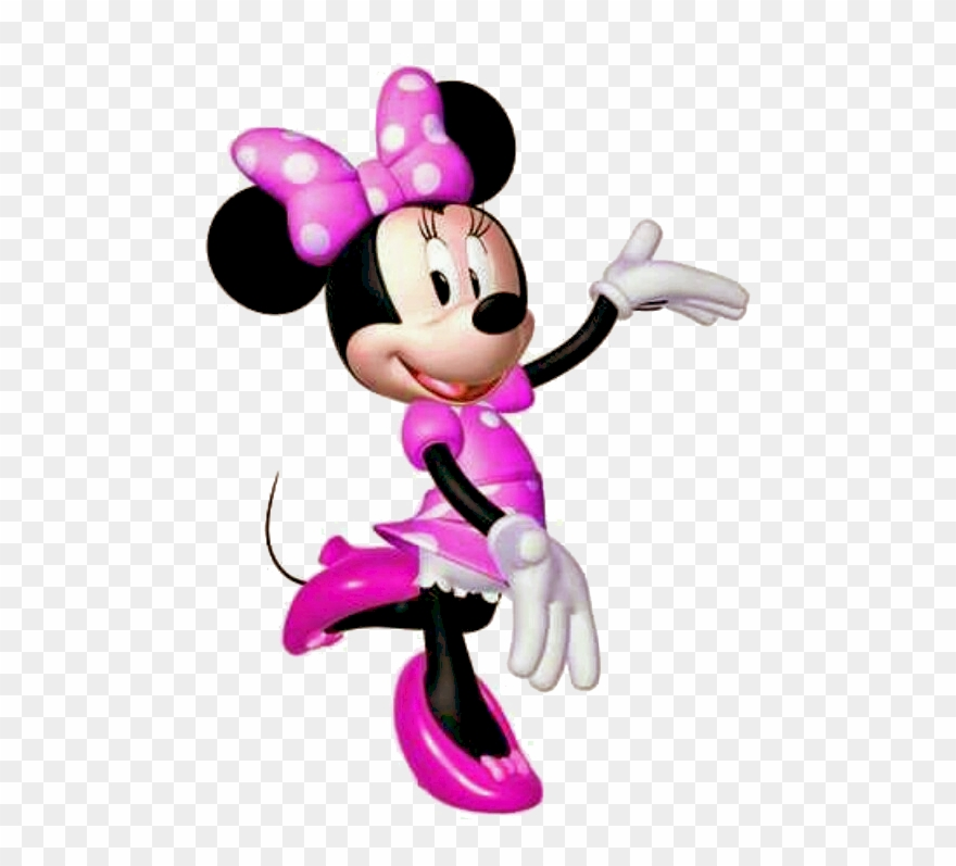 Mickey Mouse Clipart Minnie Mouse Pink And Purple Minnie Mouse Png Download Full Size Clipart 201228 Pinclipart
