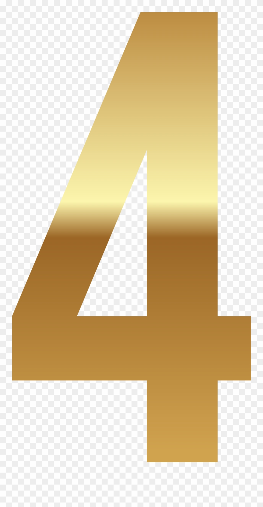 picture regarding Printable Number 4 called Golden Range, Printable Quantities, Math Quantities, Clipart
