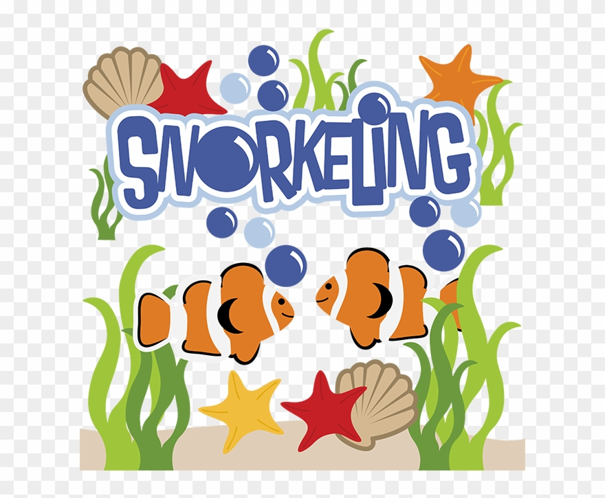 Image result for snorkeling clipart